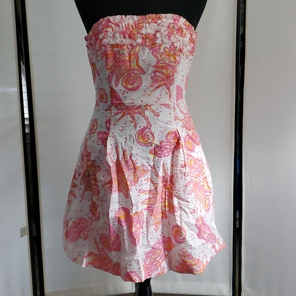 Lilly Pulitzer Dress, Size 2, Pink and Orange